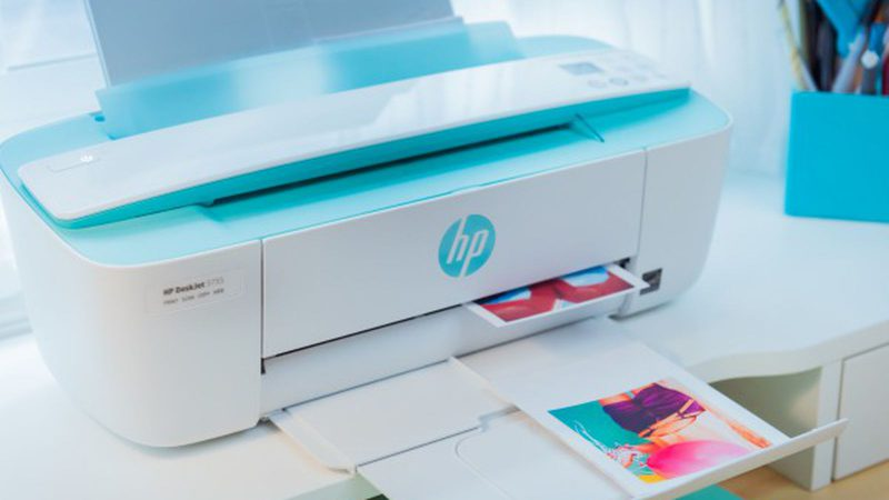 HP DeskJet 3755 Compact All-in-One Wireless Printer