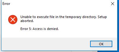 Malwarebytes Error 5