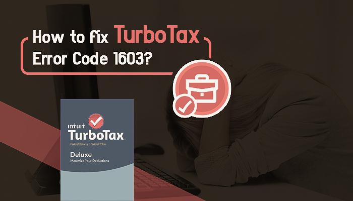Turbotax Error Code 1603