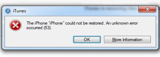 iPhoneError53
