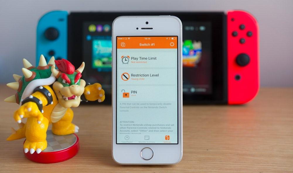 Nintendo Parental Control and Login