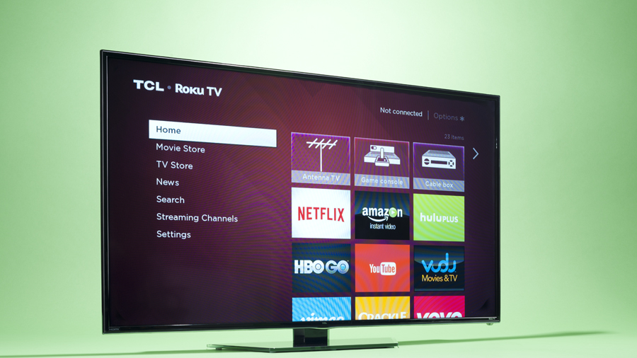 TCL smart TV Netflix