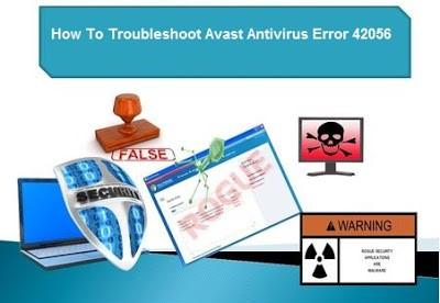 Avast Error 42056