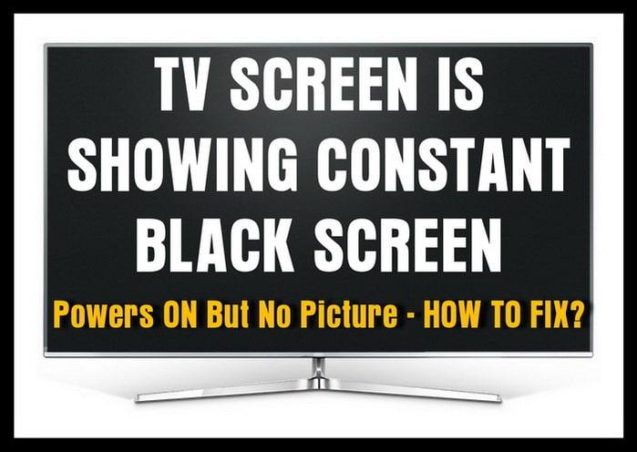 TCL smart TV blank screen
