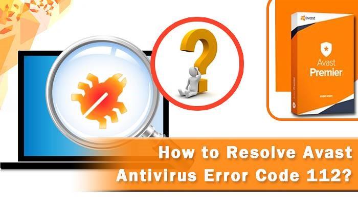 Avast Error Code 112