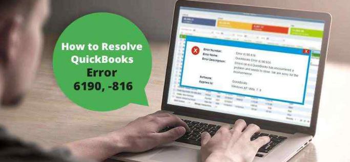 QuickBooks Error 6190 816