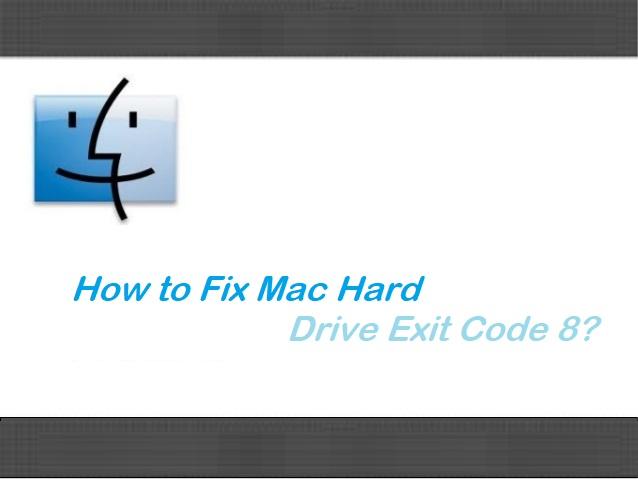 Mac Error Code 8